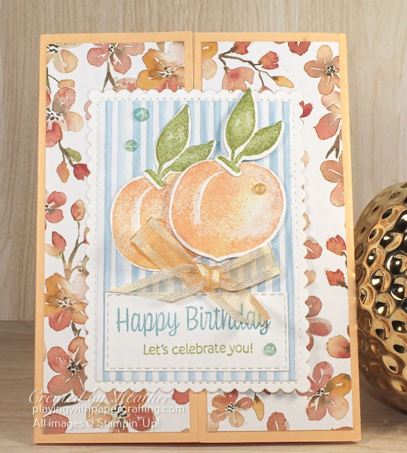 sweet as a peach gate fold for july's newsletter 2
