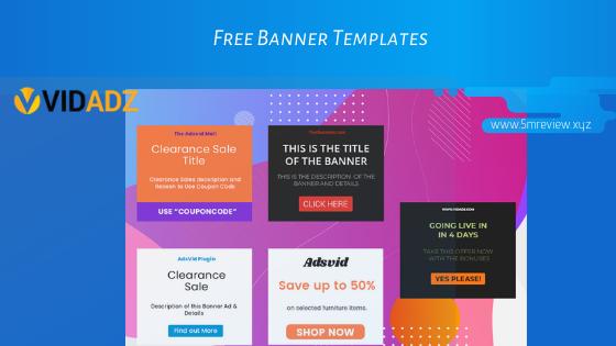 Vidadz Review Banners2