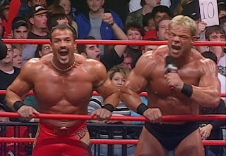 WCW Superbrawl Revenge 2001 - Lex Luger and Buff Bagwell - Totally Buff