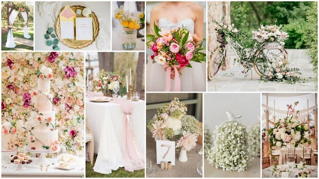 Ιδέες Διακόσμησης - Στολισμού για Ανοιξιάτικους Γάμους