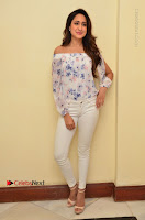 Actress Pragya Jaiswal Latest Pos in White Denim Jeans at Nakshatram Movie Teaser Launch  0009.JPG