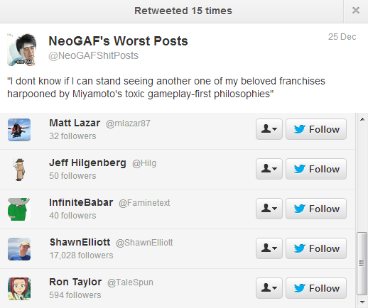 NeoGAF Shitpost Shitposts Twitter Shawn Elliot BioShock Infinite