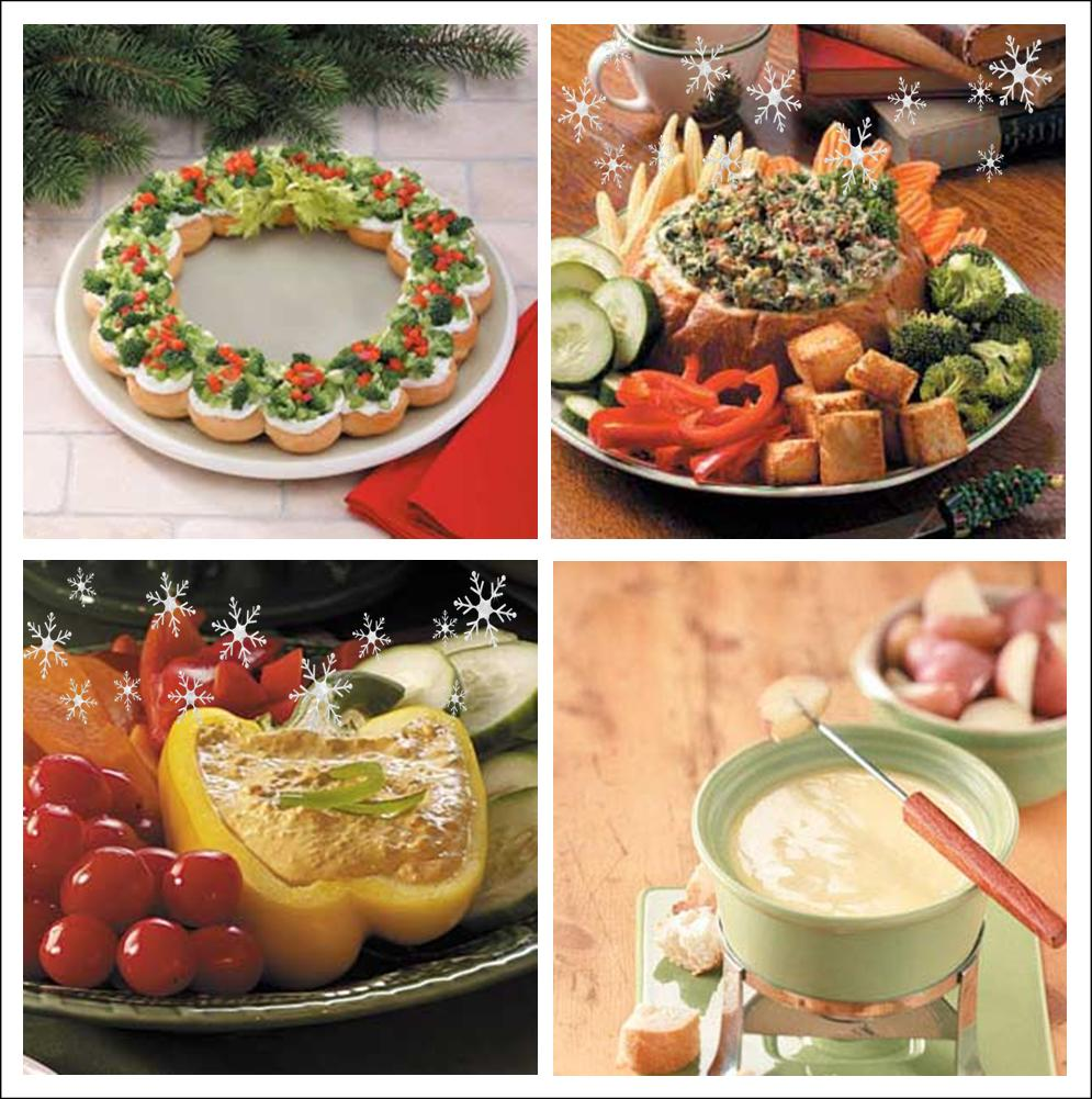 Xmas Appetizers: It's Written On The Wall: 24 Festive Christmas Appetizers