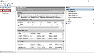 Log Windows untuk audit masuk