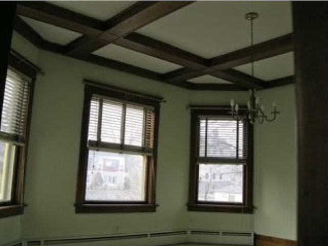 added bay window in dining room of Authenticated Sears No 163 of Reuben Talmage