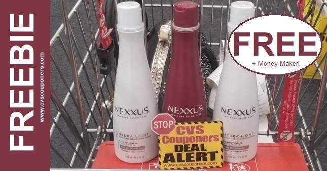 Nexxus Shampoo CVS Freebie 7-19-7-25
