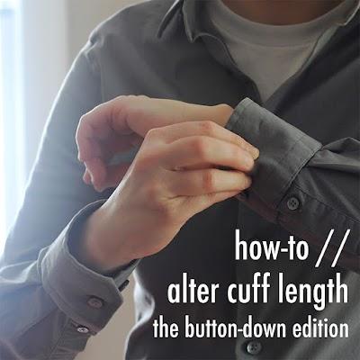 Como adaptar las mangas de una camisa