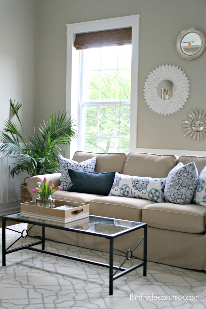 Living Room Redo from Thrifty Decor Chick
