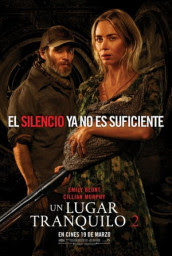 Un lugar en silencio parte II audio latino
