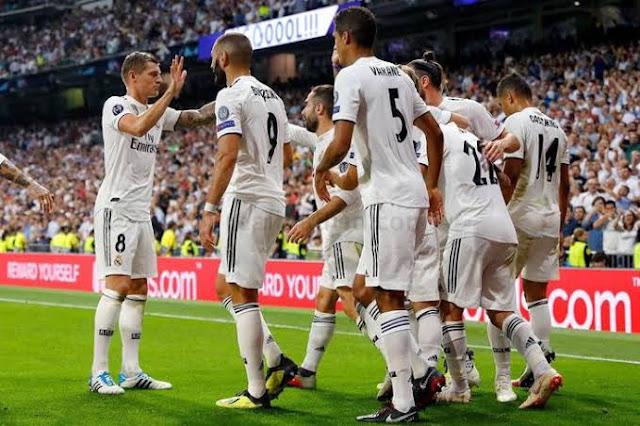 تشكيل ريال مدريد ضد أشبيلية عبر سوفت سلاش