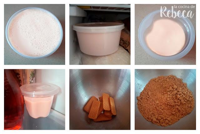 Helado de galletas Lotus: preparación de los ingredientes