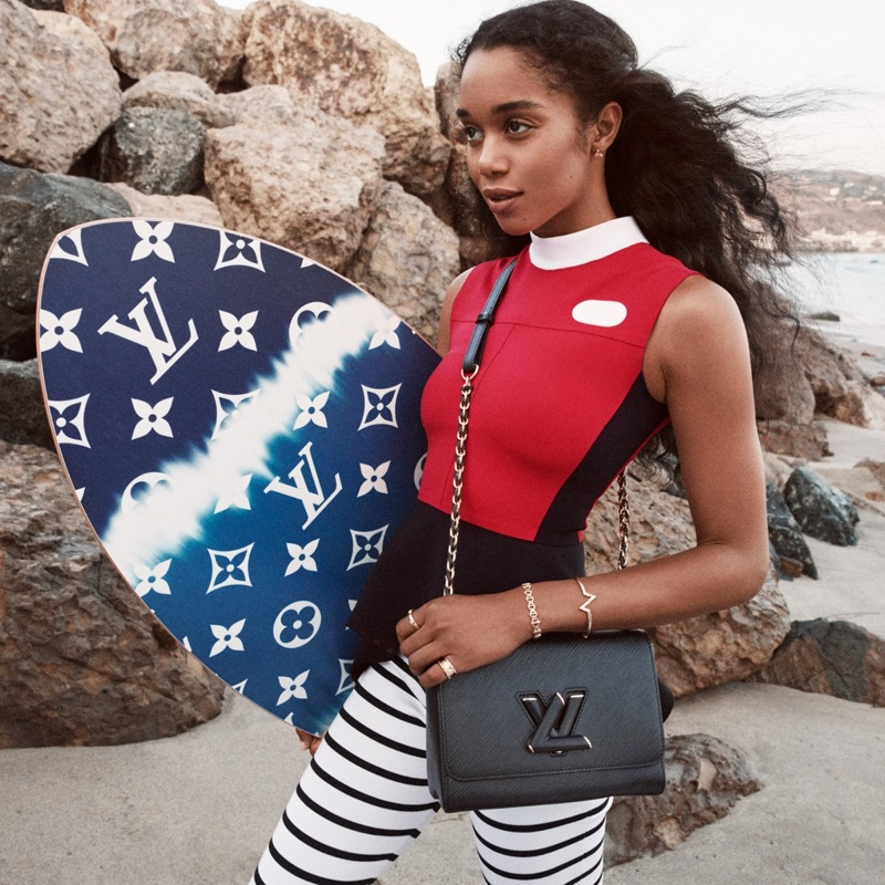 Louis Vuitton Twist Campaign 2021 starring Laura Harrier