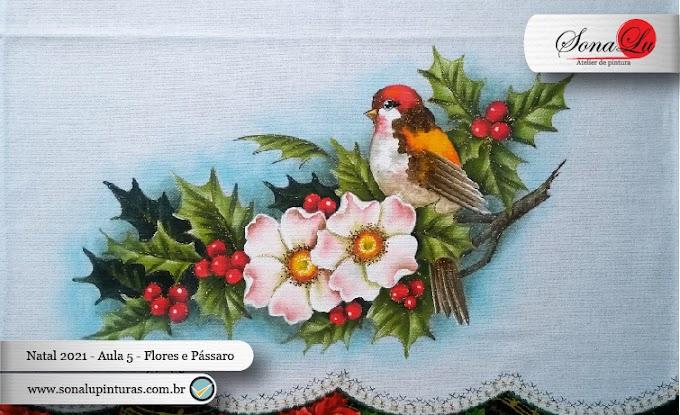 Natal 2021 - Aula 5 - Flores e Pássaro