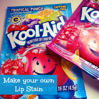 Step by Step Instructions to Make Kool-Aid Lip Gloss. Scoop liquid from the TOP of your bowl of melted Vaseline, as it will be more liquid and make the best lip gloss.. Also, you do NOT want a grainy lip gloss, and I noticed that the crystals pooled together at the bottom .