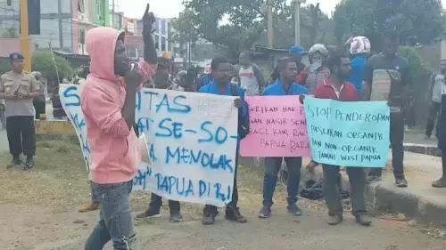 Ada Demo Lanjutan di Manokwari, Polri dan TNI Siaga