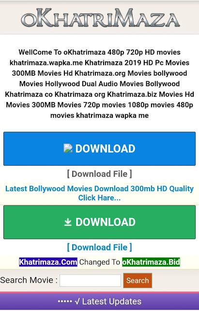 Okhatrimaza com | Lasted Bollywood Movie Download