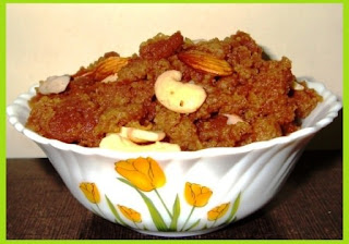 Walnut Halwa Sweet Recipe