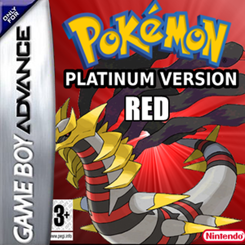 Pokemon Platinum Red GBA ROM Hack Download