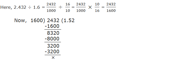 dividing 2.432 by 1.6