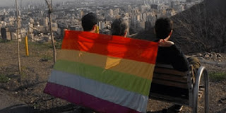 Three-man clandestine Gay Pride in Tehran, Iran.