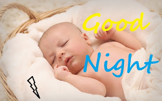 cute children's sleeping good night images