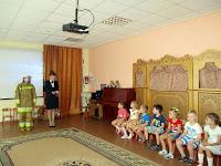 20 сентября в 42 детском саду, прошло мероприятие посвященное вступлению малышей в ряды юных пожарных.