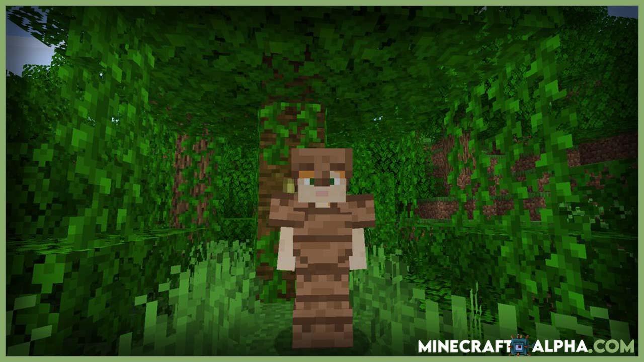 Minecraft Wooden Stone Armors Mod 1.16.5 (Equipment)