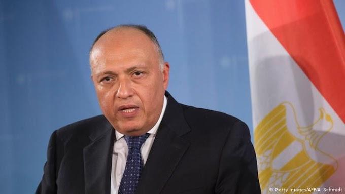 "⭕️ ورد الآن | وزير خارجية مصر لنظيره المغربي...""القاهرة تدعم حل سياسي لقضية الصحراء الغربية في إطار الأمم المتحدة""."