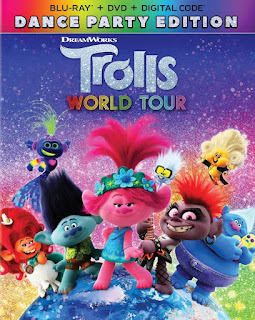 TROLLS WORLD TOUR: DANCE PARTY EDITION Blu-ray artwork