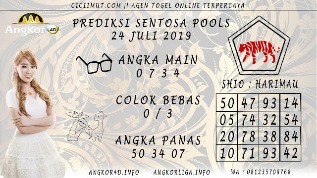 PREDIKSI SENTOSA POOLS 24 JULI 2019