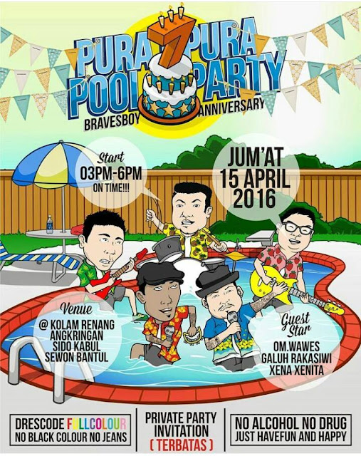 Pura Pura Pool Party