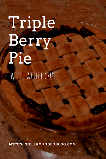 Triple Berry Pie Recipe