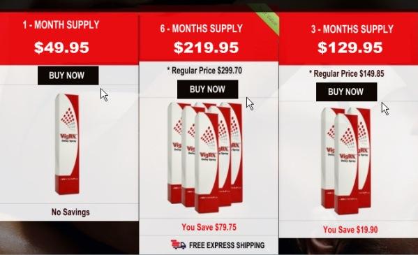 VigRx Delay Spray Price