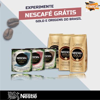 Experimente Grátis Nescafé Gold e Origens