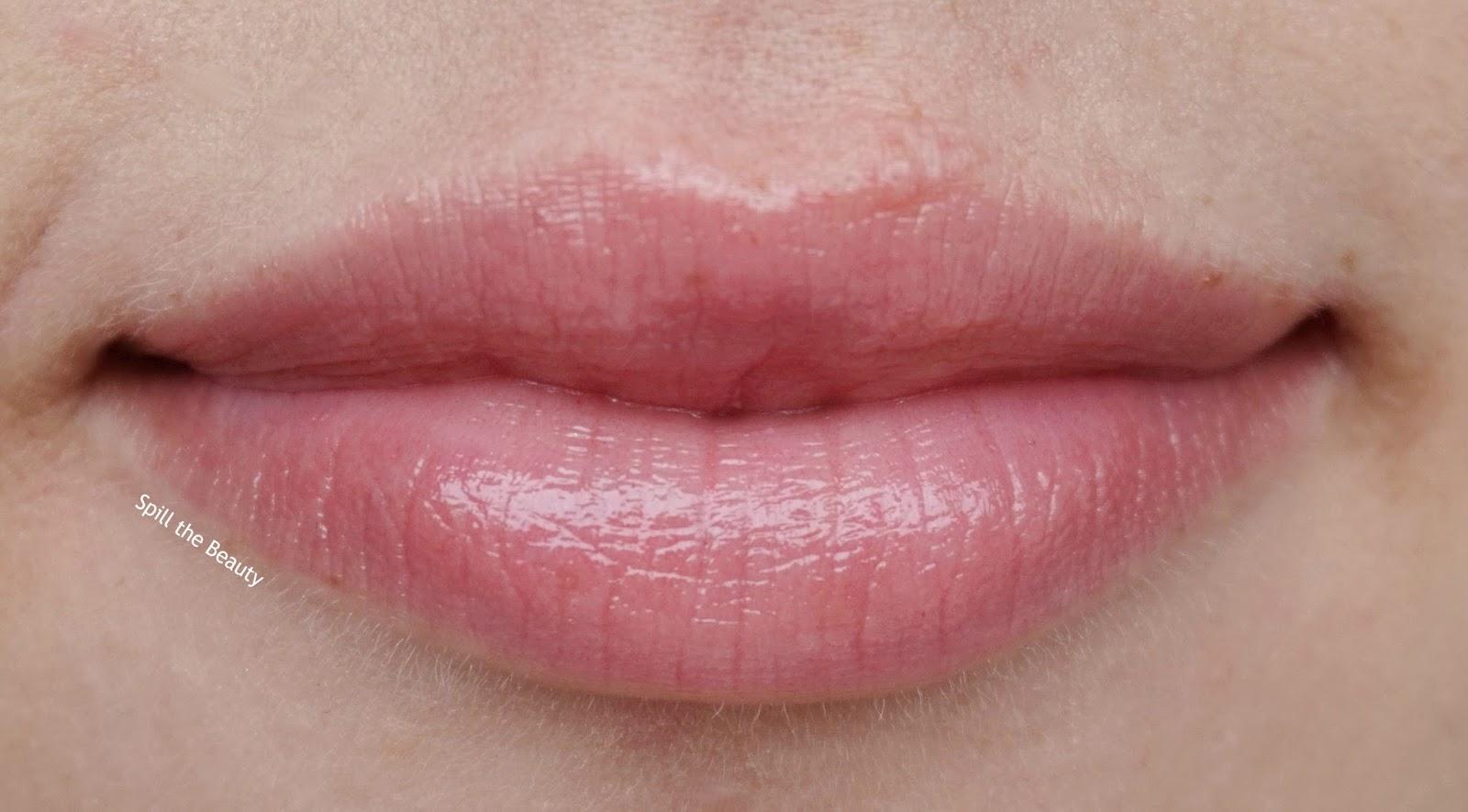 lip swatch - dior lip glow reviver - Lilac