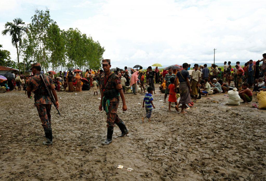 Biadab, Tentara Myanmar Serang Pengungsi Rohingya di Perbatasan