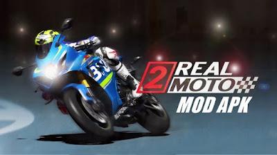 Real Moto 2 v1.0.570 Mod Apk + OBB/Data Terbaru 2021