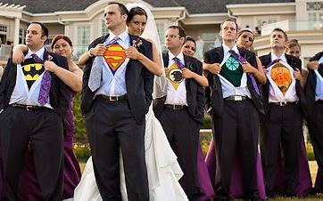 boda temática super heroes