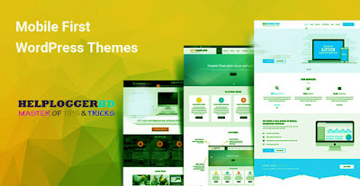 Choose a theme with mobile design first