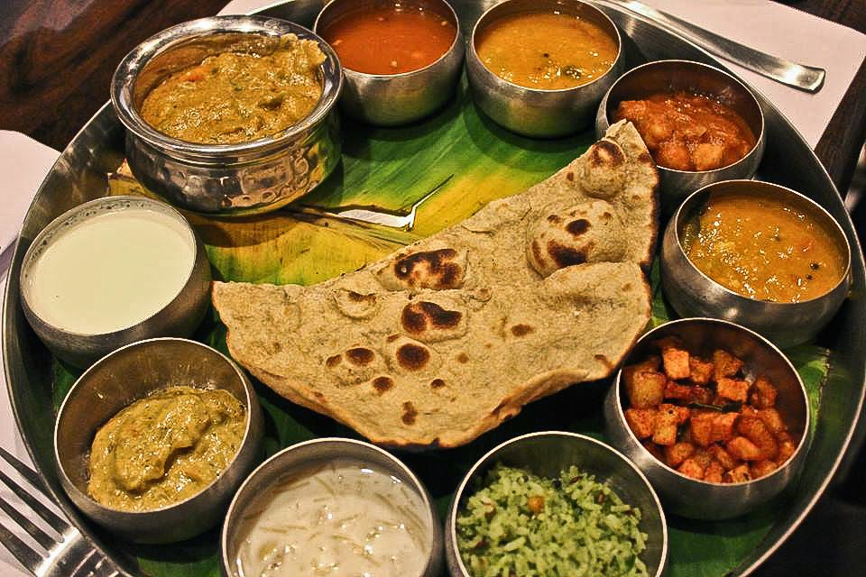 Andhra thali at Ananda