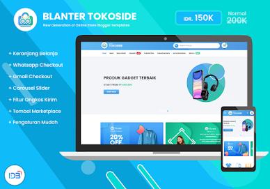 Tokoside Blanter Premium Blogger Template