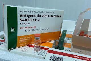 Paraíba deve receber de 55 mil a 60 mil doses de vacina no fim dessa semana, diz secretário