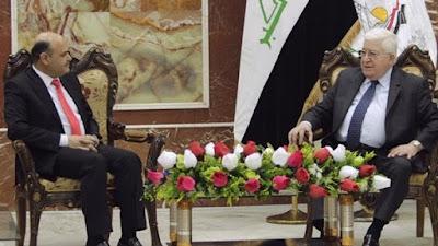 الرئيس العراقى يلتقى محافظ البصرة- أرشيفية