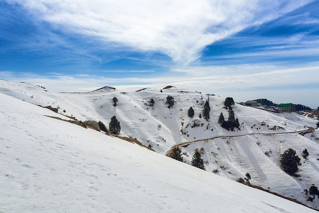 Dalhousie Attraction -   Dainkund Peak winter season