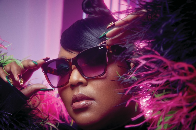 Lizzo goes glam for the Quay Australia 2020 Campaign
