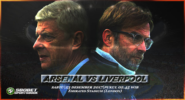 Prediksi Sepakbola Arsenal vs Liverpool 23 Desember 2017, Prediksi Pertandingan Arsenal vs Liverpool, Hasil Pertandingan Arsenal vs Liverpool, Prediksi Skor Arsenal vs Liverpool, Preview Pertandingan, Premier League