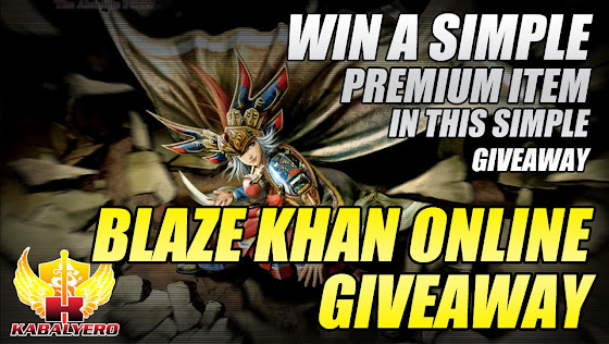 Blaze Khan Online Giveaway, Win A Simple Premium Item