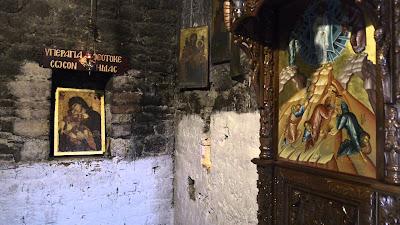 Σε εξέλιξη γενική ανακαίνιση του ναού της Μονής Γηρομερίου