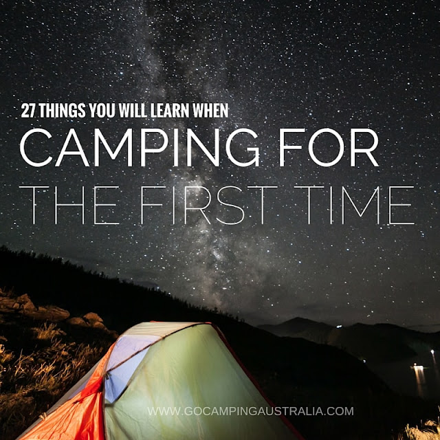 27 lessons learned from camping for the first time - beginner camping tips