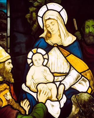 Nascimento de Jesus Cristo, vitral, #2